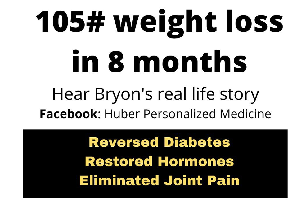 Bryon lost 105#